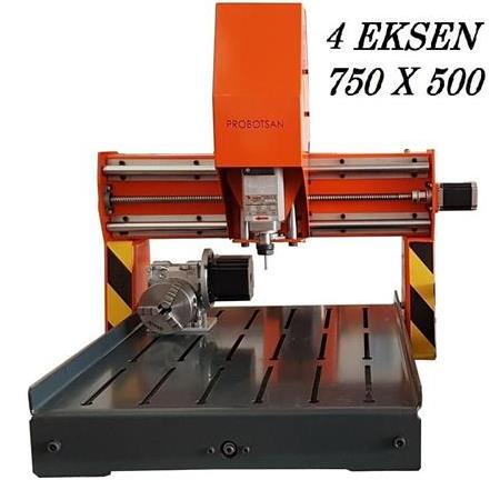 4 Eksen Mini Cnc Router